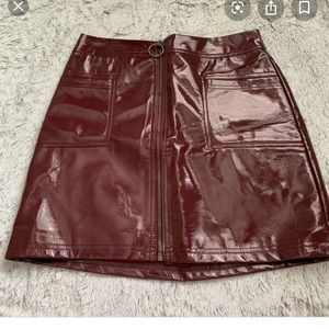 Wild Fable Pleather skirt